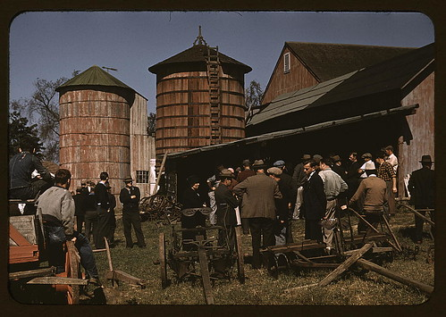 Farm auction, Derby, Conn.  (LOC)