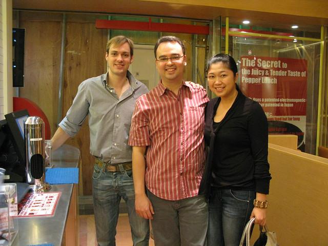 Jeroen, Alan, Lani Cayetano