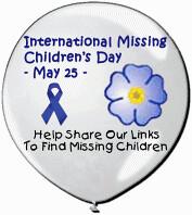 International-Missing-Childrens-Day-May-25-Logo-Balloon ...