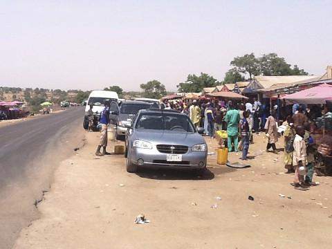 Roadside Market in Gombe