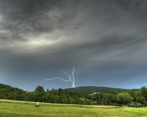 Lightning over Short Hill Mountain