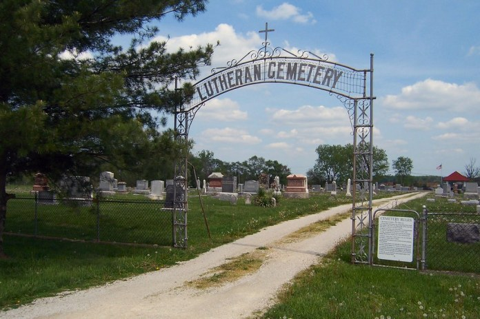 Lutheran Cemetery, Napoleon, Indiana