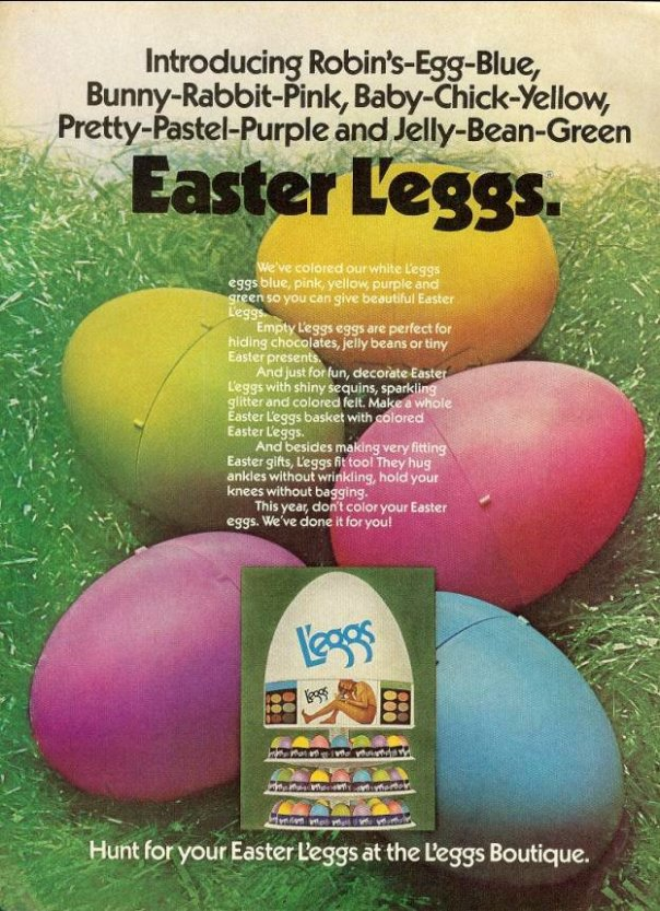 L'eggs - published in Teen - March 1975