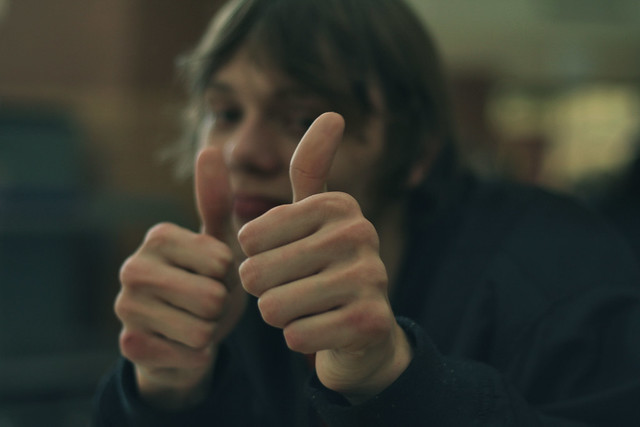 Dylan [Two thumbs up for Photographers]