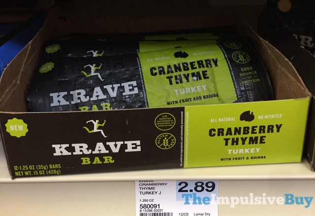 Krave Bar Cranberry Thyme Turkey