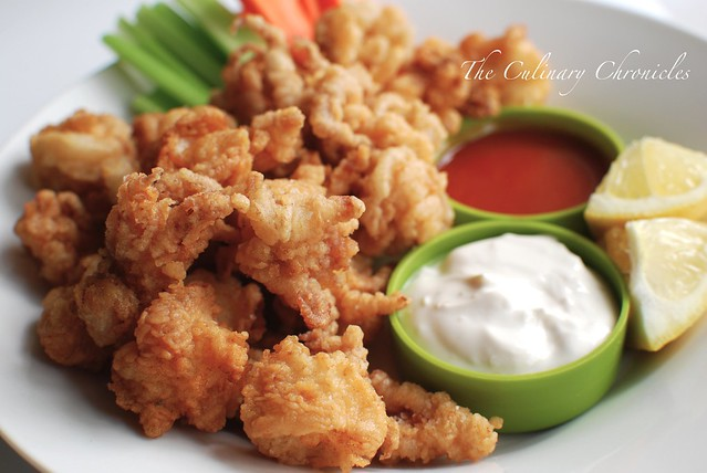 "Fried ""Buffalo"" Calamari"