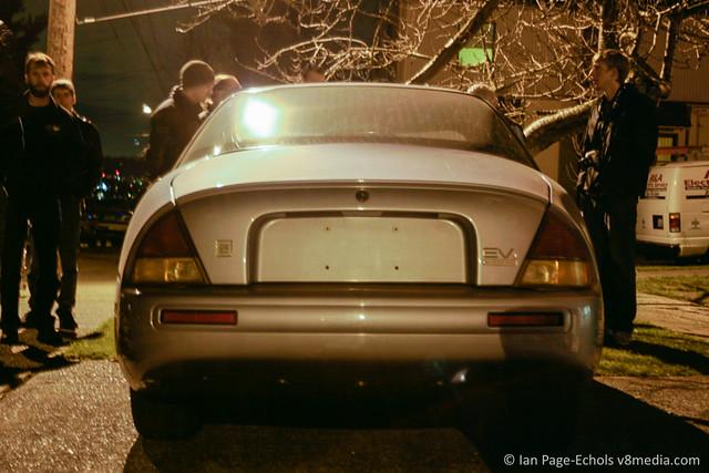 1997 EV1 rear end