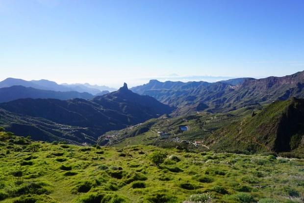 Tejeda valley