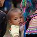Sapa_Bac ha Market_Flower Hmong_baby