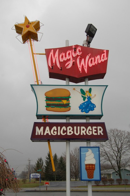 Magic Wand Restaurant - Churubusco, Indiana U.S.A. - January 11, 2008