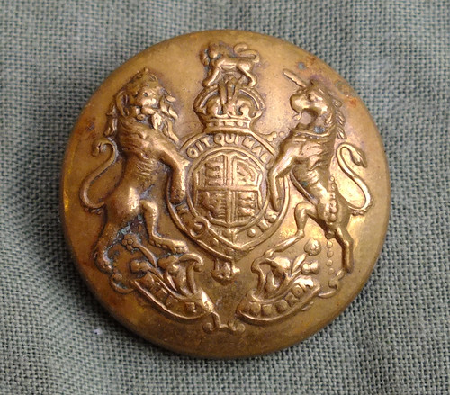 General Service Corps Brass Button