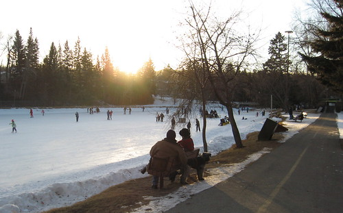 Bowness Park Skating Rink