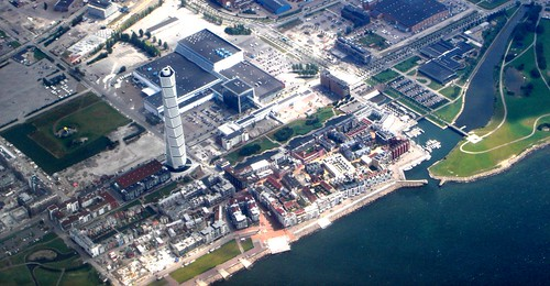 Malmö from above by little_frank