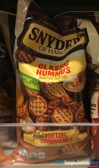 Snyder's of Hanover Classic Hummus Pretzel Sandwiches