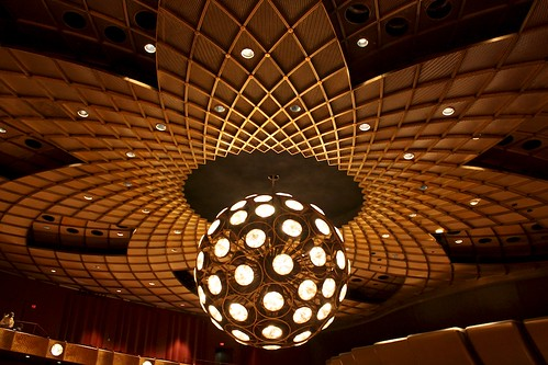Ceiling of the David Koch Theatre