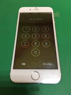 275_iPhone6のフロントパネルガラス割れ