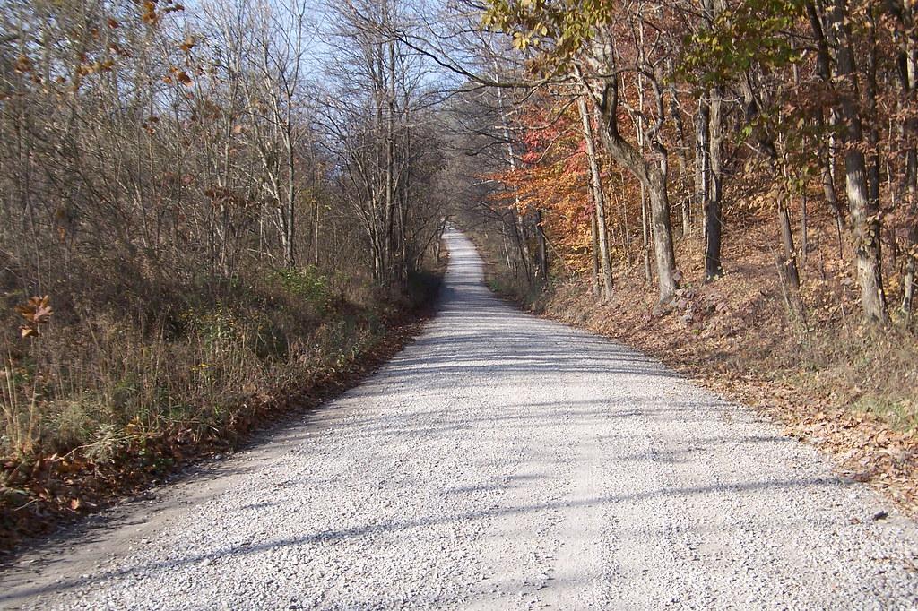Gravel National Road segment, Putnam Co, Indiana