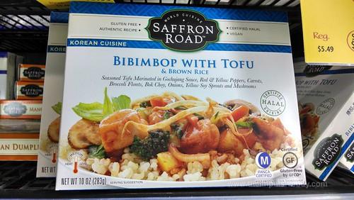 Saffron Road Bibimbop with Tofu
