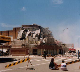 Newcastle Earthquake 1989