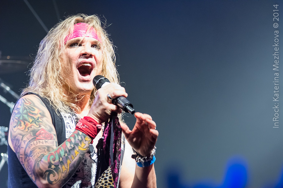 Michael Starr, Steel Panther in Moscow