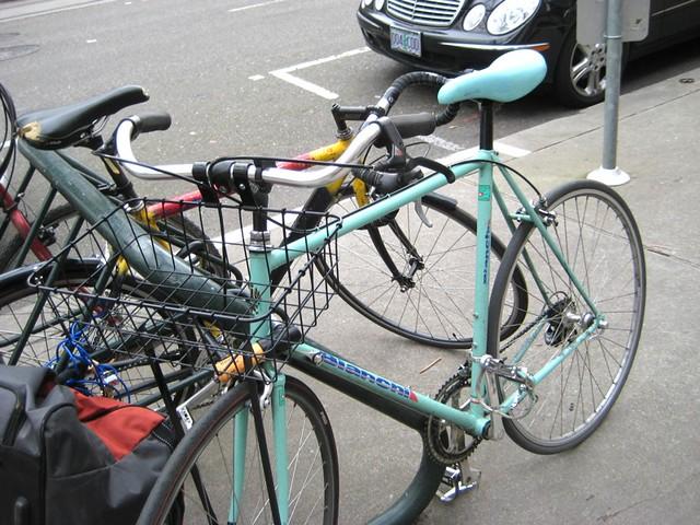 Bike Rack Fashion: City Bikes | Flickr - Photo Sharing!