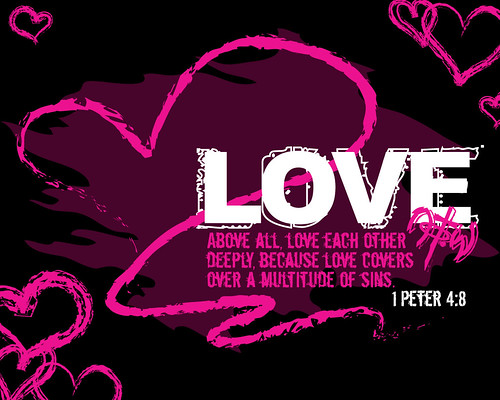 Christian Heart Background for Myspace