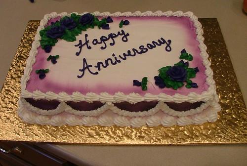 Webster Anniversary Cake