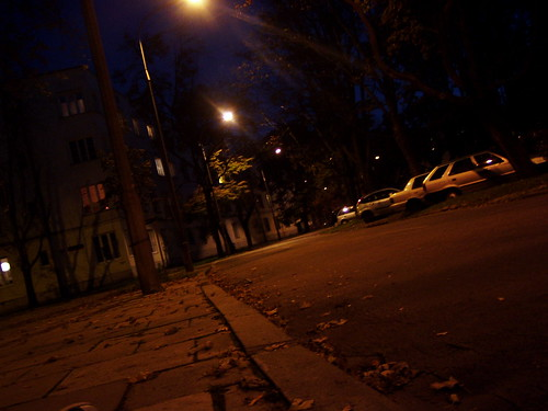 Jesień nocą