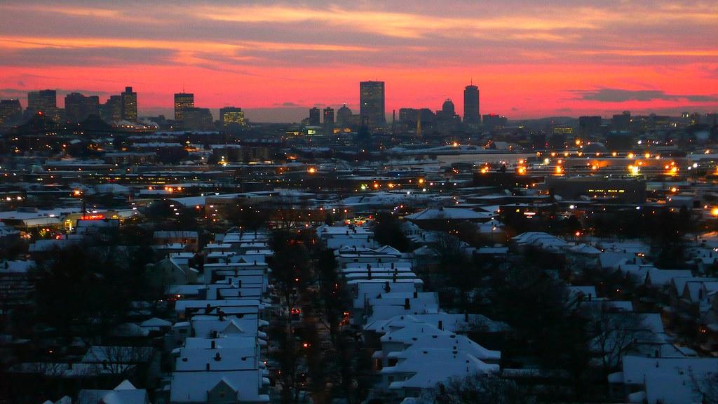 boston at dusk 14Dec07