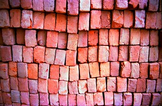 India on the road, bricks, revisiting the cast...