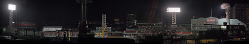 Construction Nightime Pano