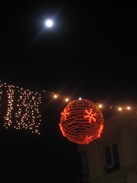 Lights and the Moon