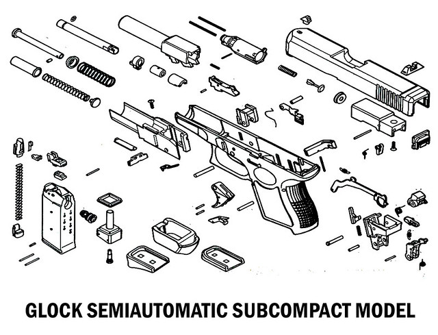 Diagram Glock 19 Parts Diagram Everything You Need To Know About