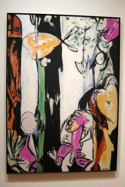 Nyc Moma Jackson Pollock S Easter And The Totem