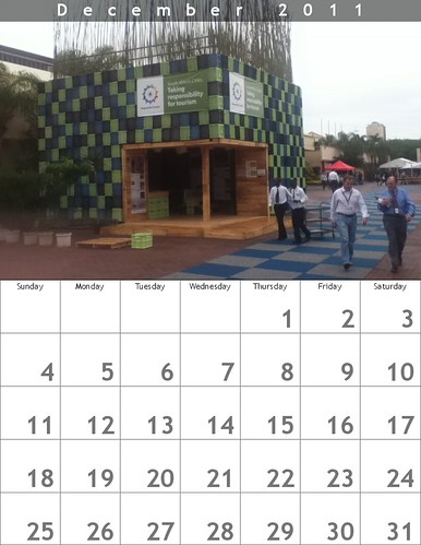 Free December Calendar: Responsible Tourism Pavilion in Durban