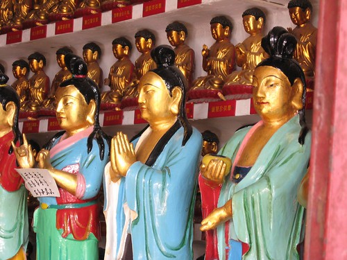 Buddhas in a temple