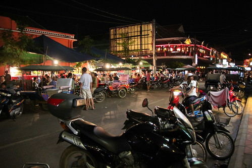 Siem Reap night