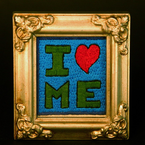 I Heart Me (framed)