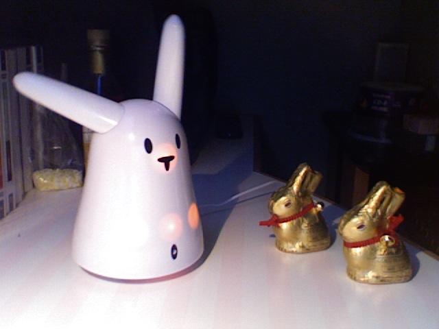 Nabaztag Vs Easter Bunnies