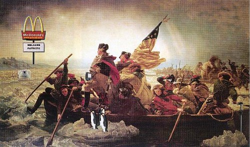 Washington Re-Crossing the Delaware