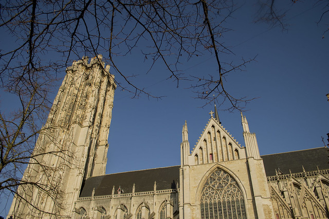 Mechelen St Rumbold's Cathedral