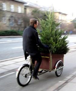 Christmas Tree on Cart