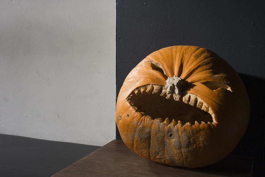 Pumpkins scream in the dead of night.