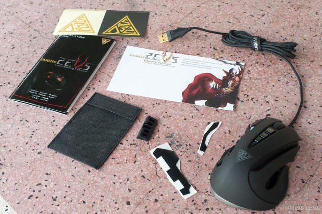 GAMDIAS ZEUS Esport Edition Laser Gaming Mouse 5