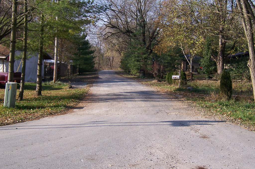 National Road westbound out of Reelsville