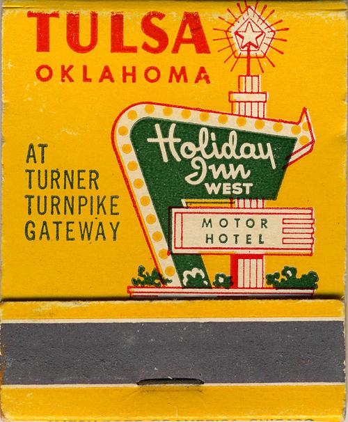 Holiday Inn West - Tulsa, Oklahoma U.S.A. - 1950s