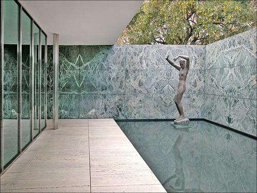 Pavillon Mies van der Rohe, Barcelone by dalbera