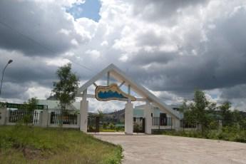Eingang Nationalpark.