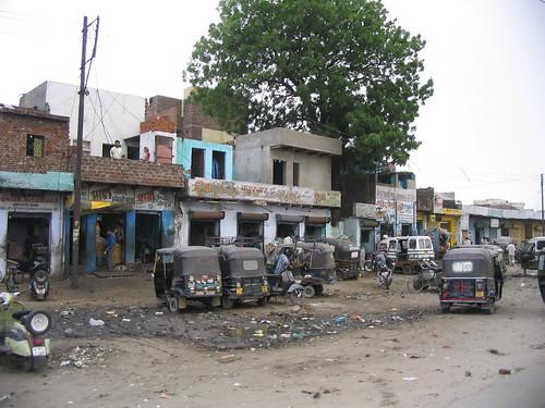 Agra street
