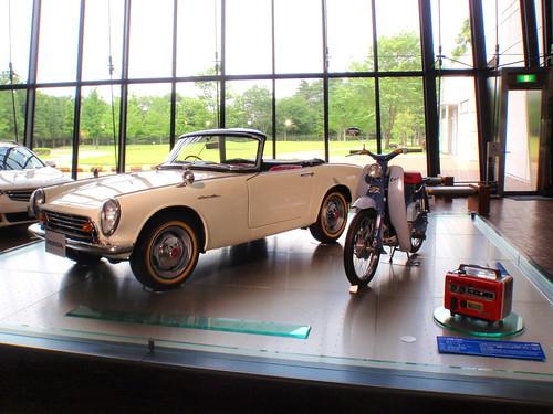 Honda S500 and Honda Cub